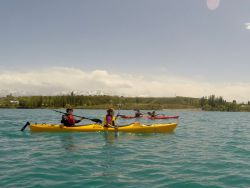 Kayaking trips  on lake Issyk-Kul